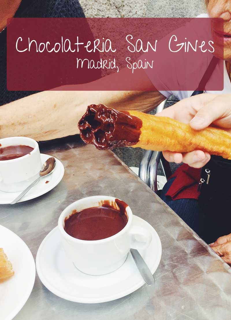 Chocolatería San Gines
