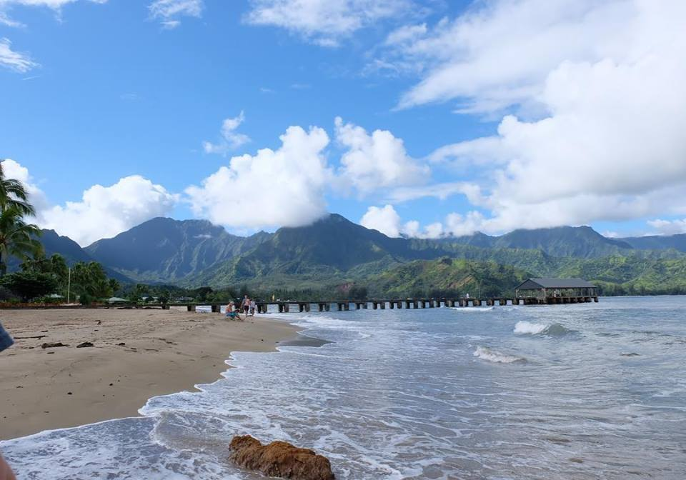 beaches in kaua'i