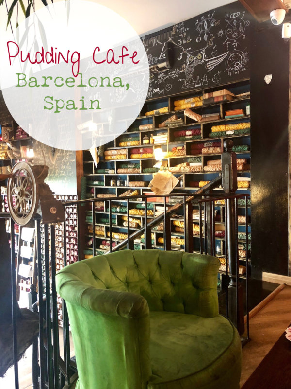 Pudding Café Barcelona Spain