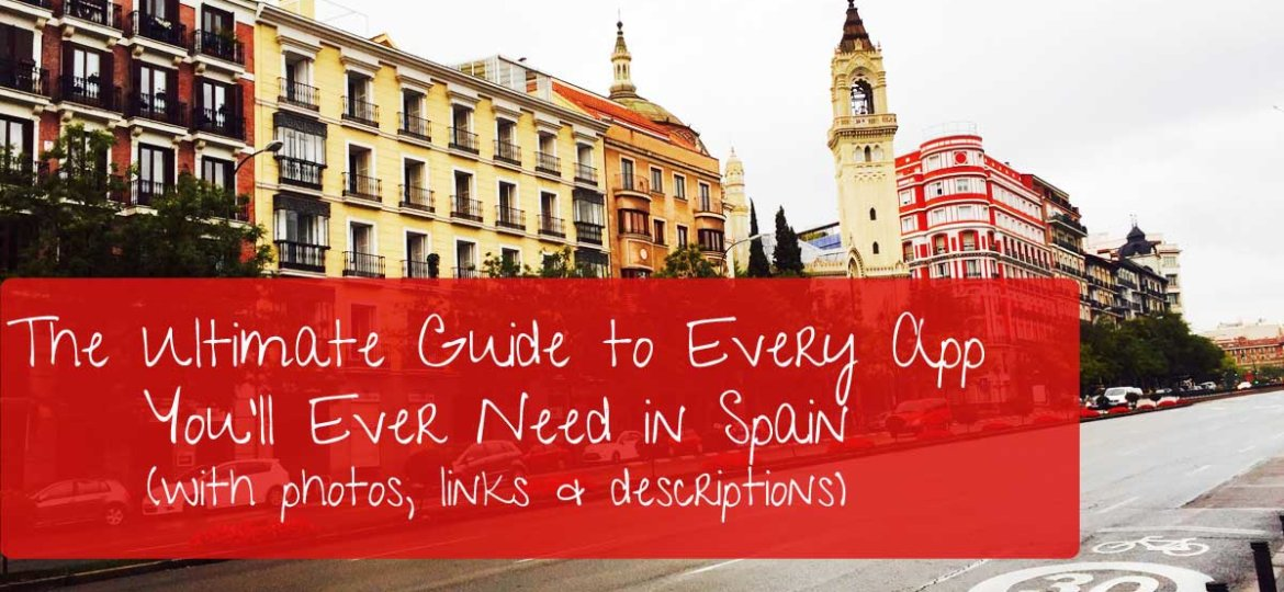 Ultimate Guide to Every App in Spain