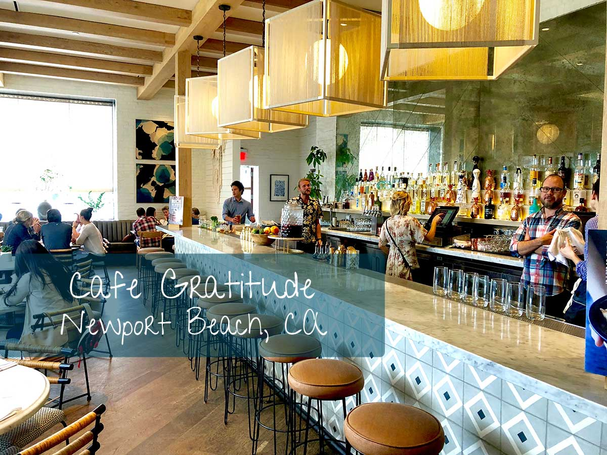 Café Gratitude Vegan Food