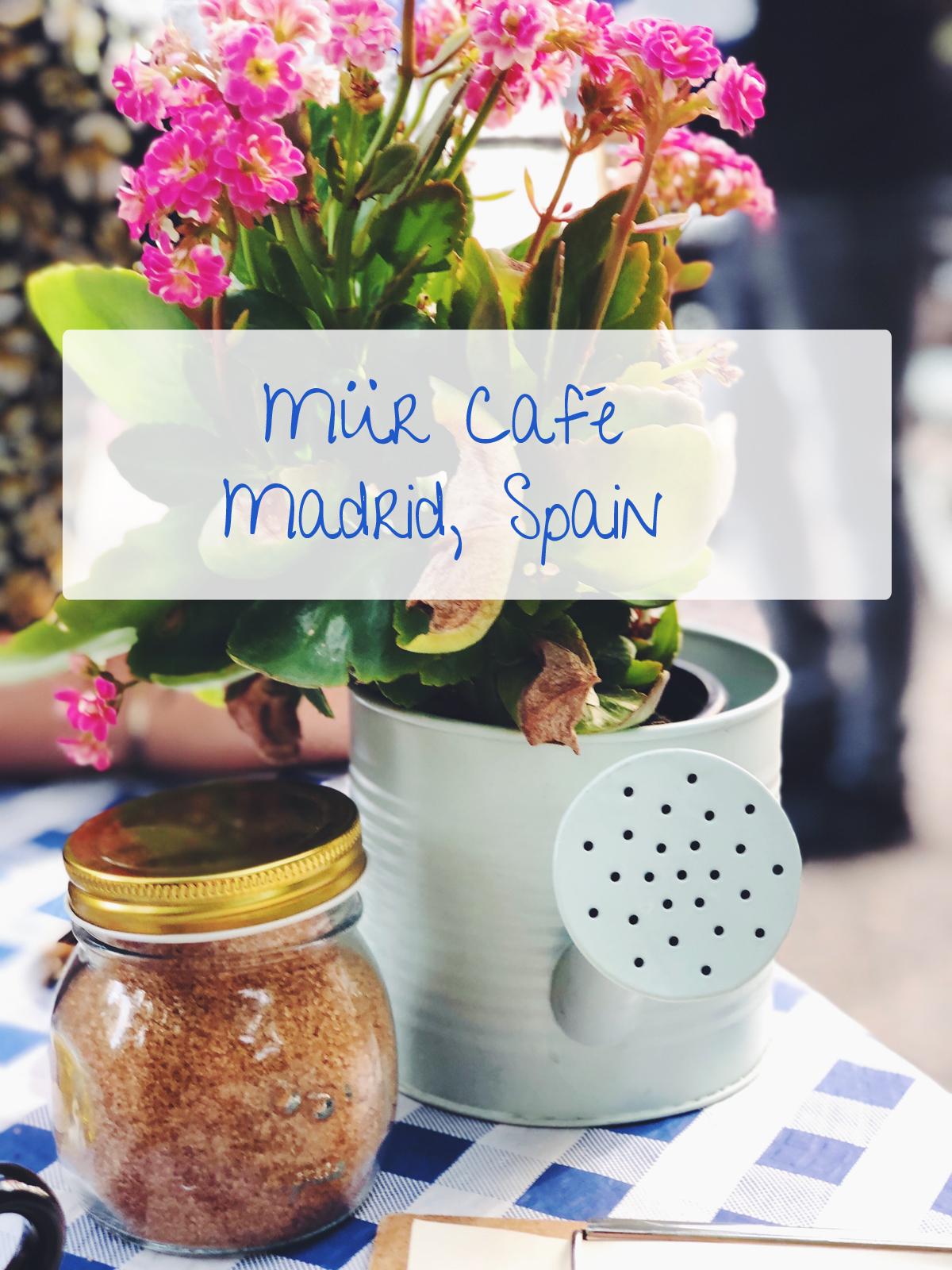 Mür Café Madrid Spain espresso coffee