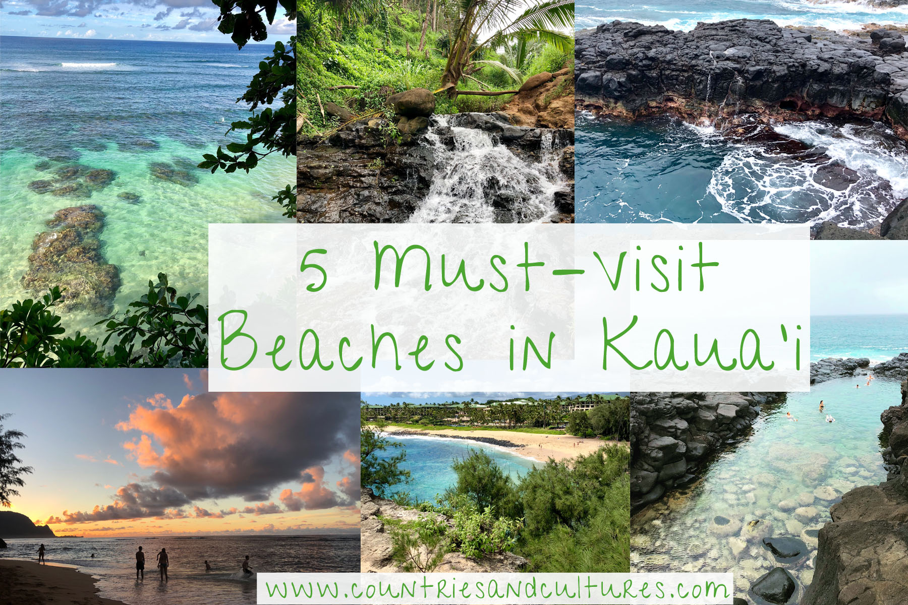 beaches in kaua'i