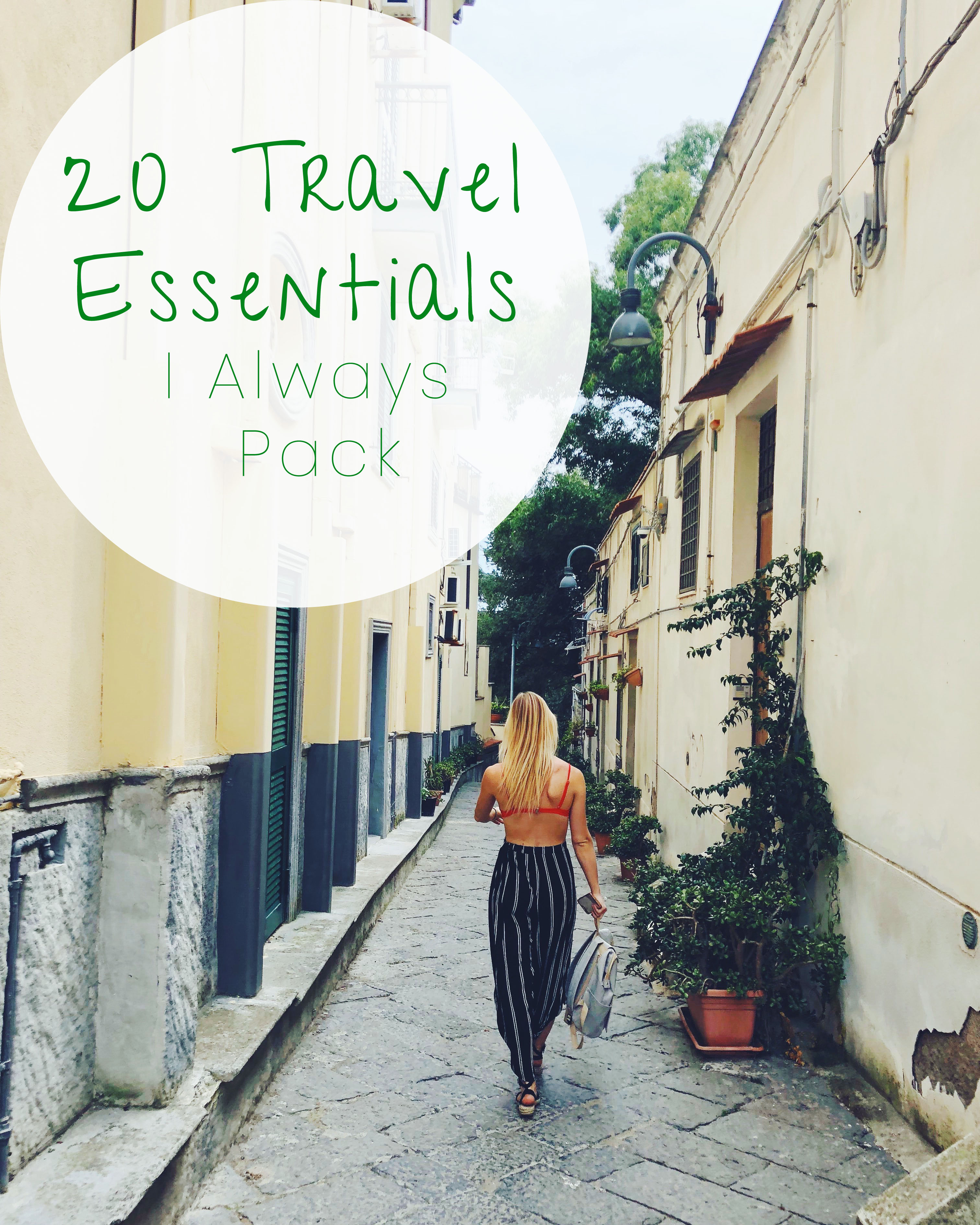 essential travel products
